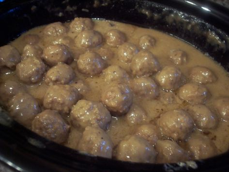 French Onion Meatballs : Elaine's Notes:  This is a wonderful recipe for parties and get togethers of all kinds and they always disappear so fast!
