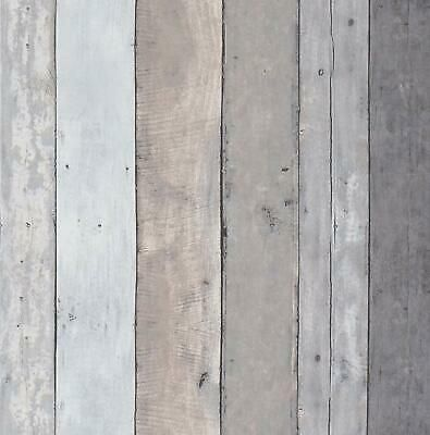 Gray Self Adhesive Wallpaper Contact Paper Peel And Sticker Wood Grain Film 3m Ebay Wood Plank Texture Wood Plank Wallpaper Wood Wallpaper