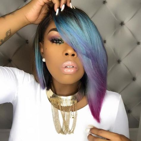 Beautiful blunt bob haircuts wigs for black women lace front wigs human hair wigs african american wigs buy now