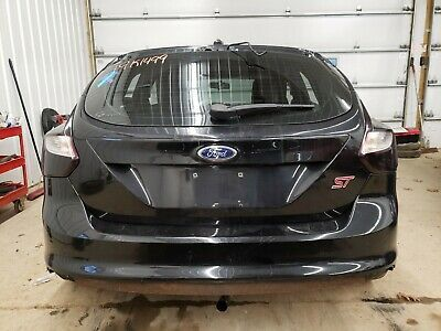 Details About 2013 Ford Focus St Rear Trunk Lid Hatch Black Paint