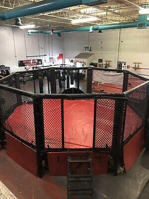 Mma Octagon Cage Ebay Mma Octagon Boxing Gym Design