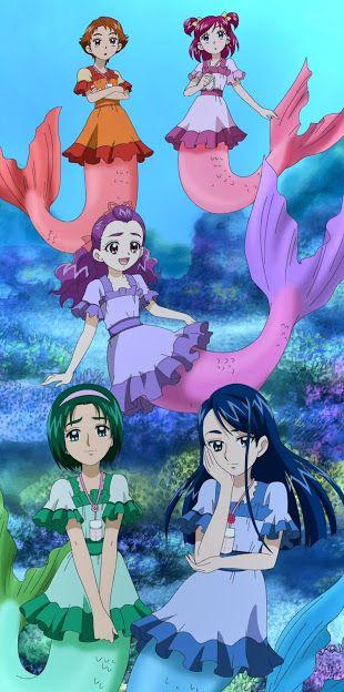 yes precure5 gogo 40 mermaid precure pretty cure anime cosplay anime