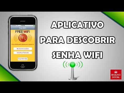 Tutorial Descobrir Senha Do Wifi Youtube Descobrir Senha