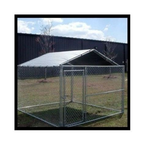 Dog Kennel Cover Cage Pet Shade Rain Large Enclosure Screen Roof 10x10 Outdoor Kennel Cover Dog Kennel Cover Dog Kennel Outdoor