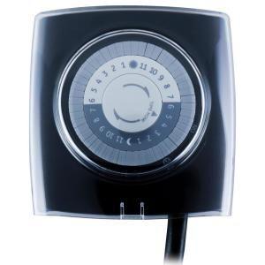 Defiant 15 Amp 24 Hour Outdoor Plug In Extreme Weather Mechanical Timer Black 49813 The Home Depot Timer Extreme Weather Digital Timer