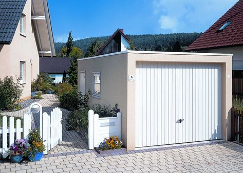 Fertiggarage beton österreich  betonfertiggarage #fertiggarage #einzelgarage | Einzelgarage ...