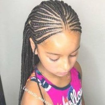35 Natural Hairstyles For Black Girls Natural Hairstyles Little Black Girls Hair Styles Natural Hair Styles Kids Braids
