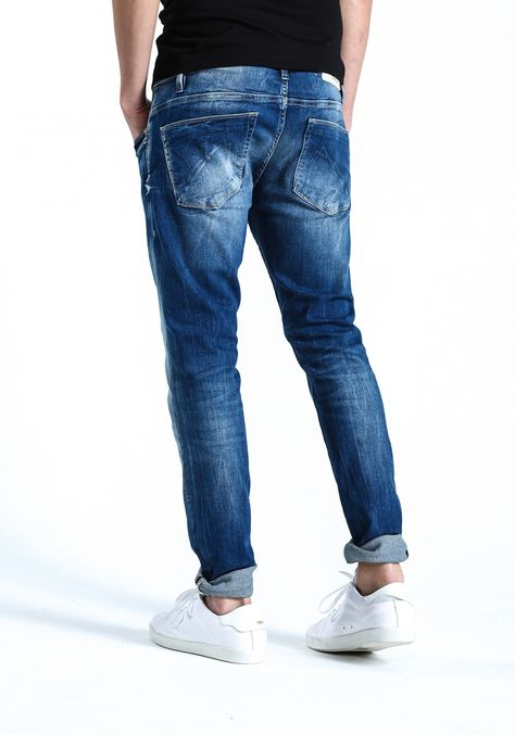 perso legenda Nudie Jeans Co Lean Dean jeans slim fit