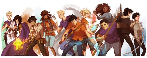 viria drawings of percy jackson, harry potter, avatar and ma Percy Jackson Fan Art, Percy Jackson Fandom, Percy Jackson Characters, Percy Jackson Books, Viria Percy Jackson, Percy Jackson Wallpaper, Percy Jackson Tumblr, Percabeth, Solangelo