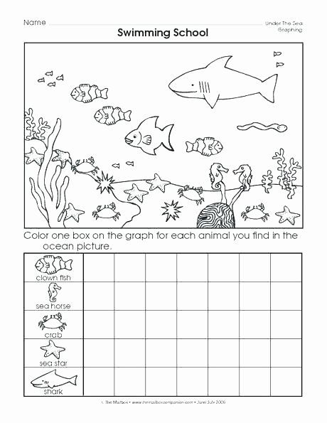 Kindergarten Ocean Worksheets Printable Graphing Worksheets For Kindergarten Degree Free Math In 2020 Art Worksheets Printables Art Worksheets Visual Art