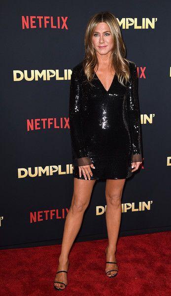 Jennifer Aniston Sequin Dress |  Jennifer Aniston legs, Jennifer Aniston, Jennifer Aniston hot