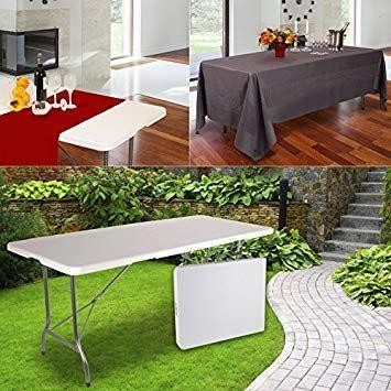 Probache Table Pliante D Appoint Portable Pour Camping Ou Reception 180 Cm Meuble Tv Meuble Salle De B Avec Images Meuble Angle Ikea Meuble A Donner Meuble Angle Cuisine