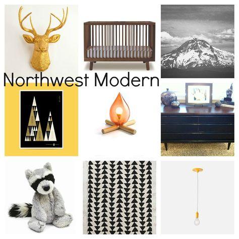Nursery Inspiration Northwest Modern