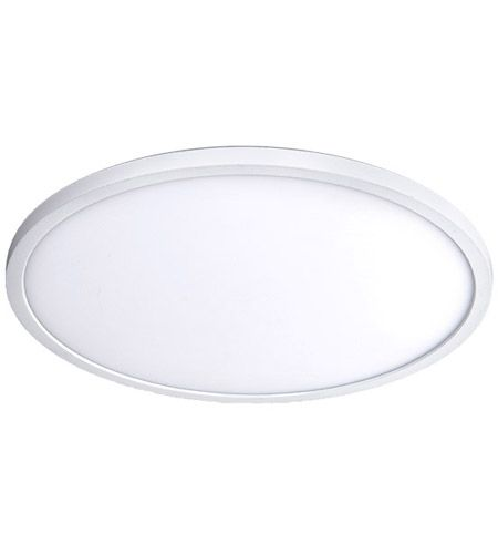 Wac Lighting Fm 11rn 930 Wt Round Led 11 Inch White Flush Mount Ceiling Light In 3000k In 2020 Flush Mount Ceiling Led Flush Mount Ceiling Lights