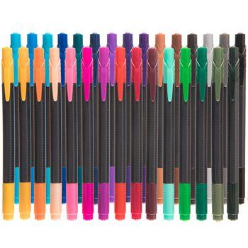 Twin Tip Fineline Markers 30 Piece Set Scrapbook Paper Crafts