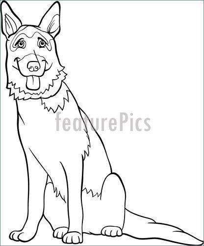 Pets German Shepherd Dog Cartoon For Co Cartoon Dog German Pets Shepherd In 2020 German Shepherd Colors German Shepherd Art Puppy Coloring Pages