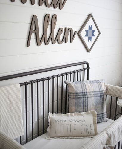 A Rustic Baby Boy Nursery Project Nursery Rustic Baby Boy Nursery Farmhouse Nursery Decor Baby Nursery Neutral