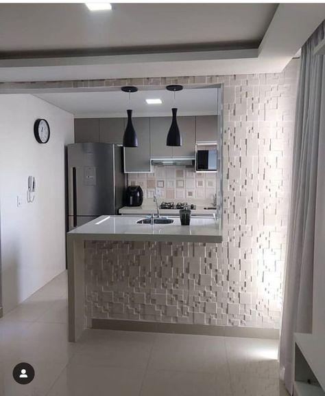 Pequeno Y Comodo Cocinas De Casa Diseno De Interiores De Cocina