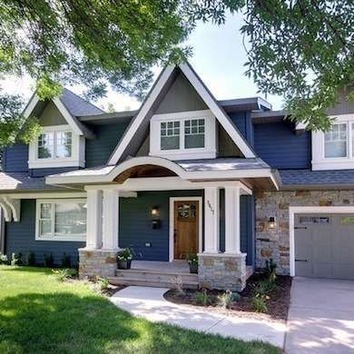 Top 10 Exterior Finishes In 2020 Seeking Lavender Lane In 2020 House Exterior Blue Exterior Paint Colors For House House Paint Exterior