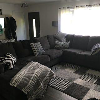 Wetzel 3 Pc Sectional Sofa Living Room Decor Cozy Beautiful