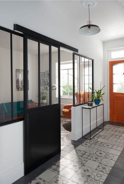 Porte Coulissante Atelier Noire 83cm Systeme En Applique Porte Coulissante Porte Coulissante Atelier Porte Coulissante Verriere