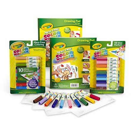 Buy Crayola Color Wonder Mess Free Coloring No Mess Markers And