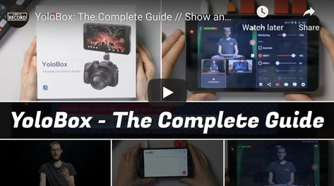 Yolobox Deep Dive: from Unboxing to Live Streaming