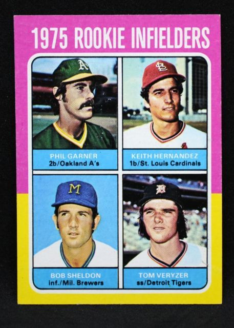 1975 Topps Keith Hernandez Rookie Baseball Cards Active