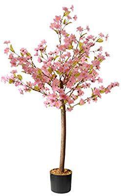 Amazon Com National Tree Cherry Blossom Tree 4 Foot Pink Home Kitchen Cherry Blossom Tree Blossom Trees Cherry Blossom