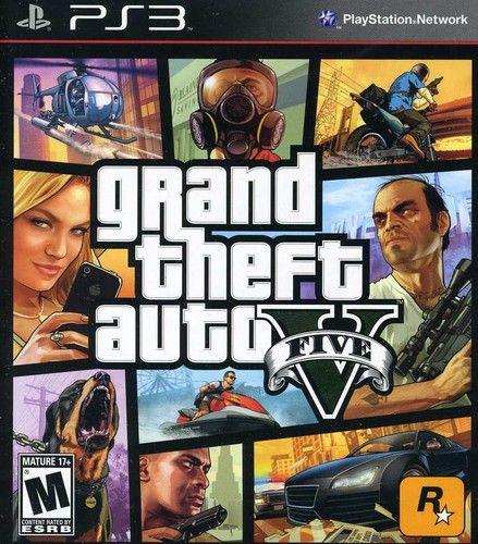 Grand Theft Auto V Rockstar Games Playstation 3 710425471254 Walmart Com Grand Theft Auto Gta 5 Xbox Grand Theft Auto Series