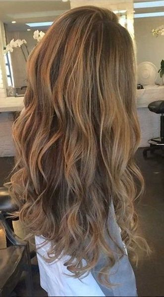 40 Blonde Und Dunkel Braune Haar Farbe Ideen Lockige Haare Farben Haare Lange Blonde Haare
