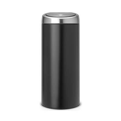 Brabantia Afvalemmer Touch Bin 50 Liter.Brabantia Touch Bin Afvalemmer 30 Liter Vingerafdrukvrij