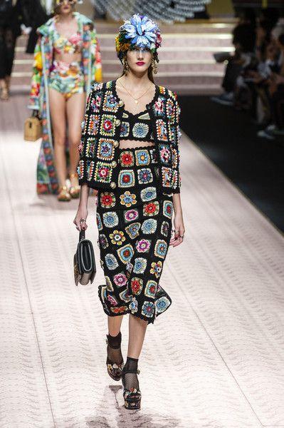 Dolce & Gabbana at Milan Fashion Week Spring 2019   Knit