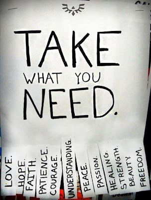 Take What You Need!