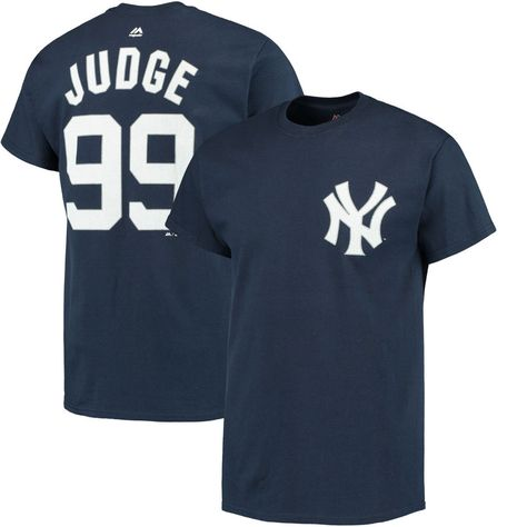 New York Yankees Aaron Judge 99 Men/'s or Youth 3//4 Sleeve Jersey Navy and White