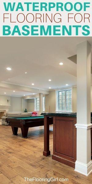 The 10 Best Basement Flooring Options Best Flooring For Basement Basement Flooring Options Basement Flooring