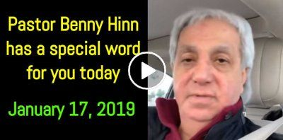 Pastor Benny Hinn has a special word for you today  (January