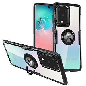 Samsung Galaxy S20 S20 Plus S20 Ultra Clear Case Mosafe Ring Holder Stand Cover Ebay In 2020 Clear Cases Samsung Galaxy Phone Case Cover