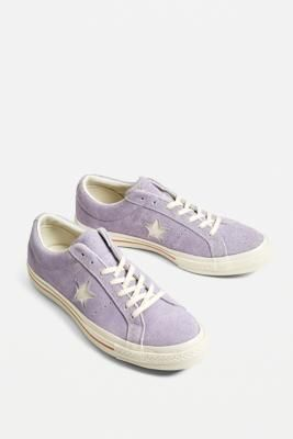 Converse One Star Washed Lilac Suede