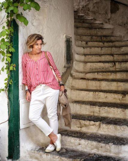 50 Looks Confortaveis De Verao Para As 50 50 Moda Estilo