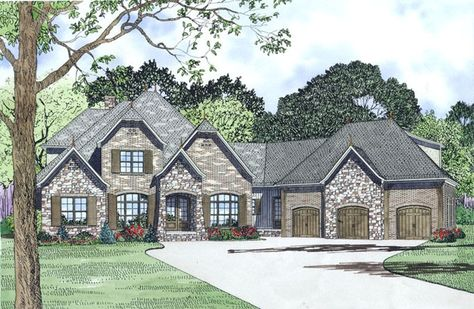 Eplans French Country House Plan French Country Fantasy 3752
