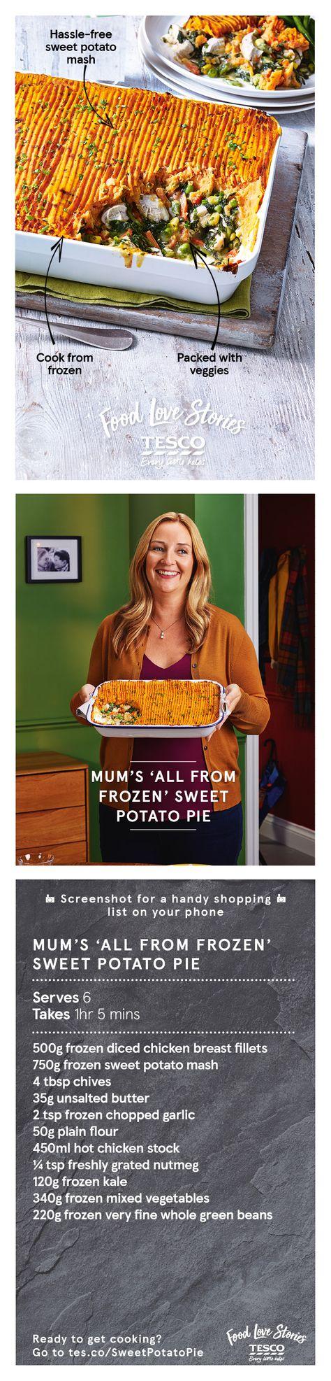 Mums All From Frozen Sweet Potato Pie