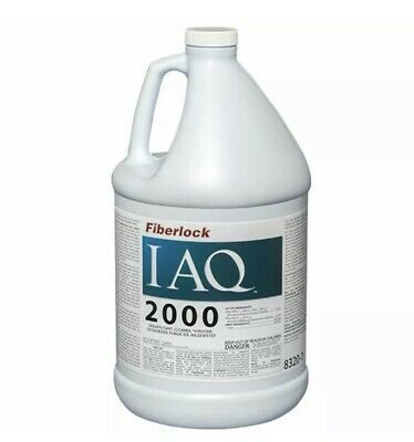 Fiberlock Iaq 2000 Concentrate Disinfectant Cleaner 1 Gal 8320