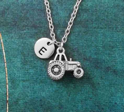 Tractor Charm Tractor Bangle Bracelet Farmer Gift Tractor Pendant