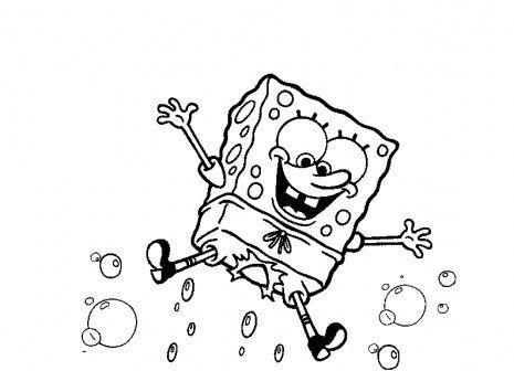 Free Printable Spongebob Squarepants Coloring Pages In 2020 Spongebob Coloring Coloring Books Coloring Pages