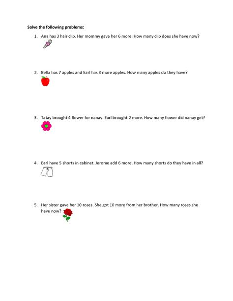 Montessori Preparatory Science Worksheet | Preparatory Reviewer ...