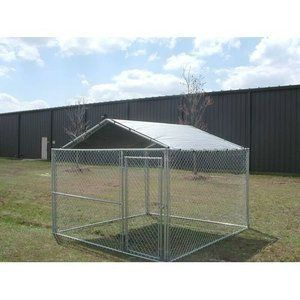 10 Ft X 10 Ft Dog Kennel Cover Walmart Com In 2020 Dog Kennel Cover Dog Kennel Dog Playpen