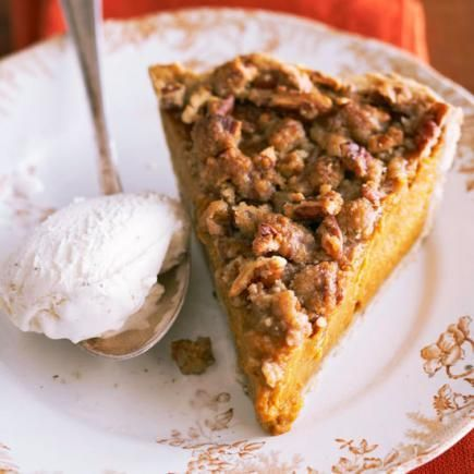 Apple Butter Pumpkin Pie: Classic pumpkin pie gets even better. More pumpkin recipes: http://www.midwestliving.com/food/holiday/28-pumpkin-recipes-we-absolutely-love/page/20/0