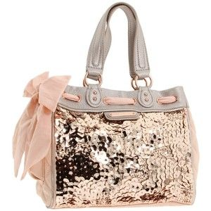 I would sleep with this purse next to me on my pillow every night so I could see it's sparkly goodness in the morning! :D