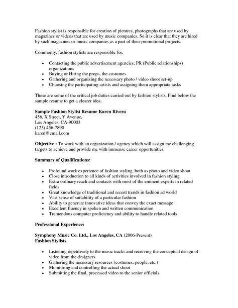 Senior Buyer Resume Career Objective For Resume Sample  Httpwww.resumecareer .